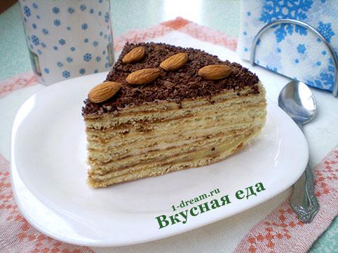 Выпечка домашнего торта на сковороде