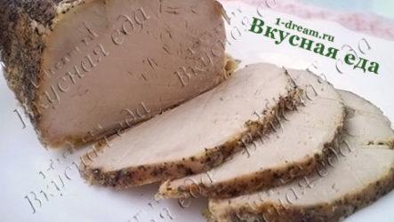 Карбонад из свинины-рецепт с фото