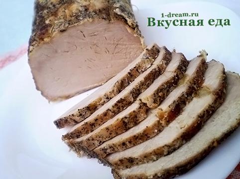 Приготовить свинину в фольге