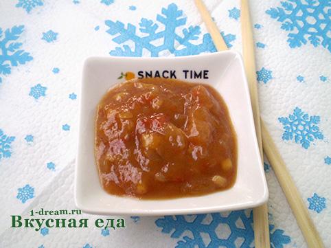 Кисло-сладкий соус рецепт приготовления