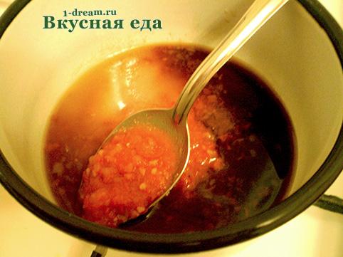 Соевый соус для кисло-сладкого соуса
