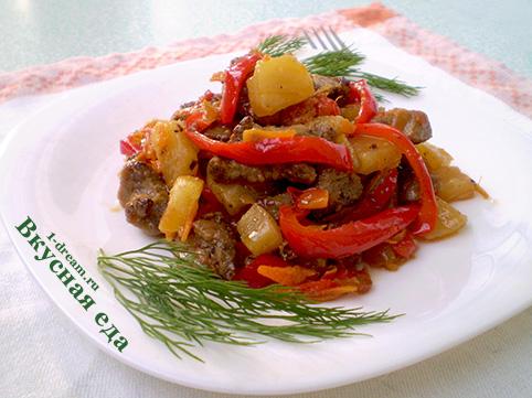 Приготовить свинину в кисло-сладком соусе