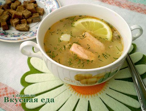Приготовить рыбный суп из консервов горбуши