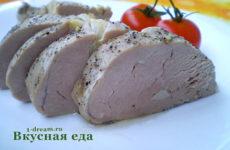 Свиная вырезка, запеченная в духовке