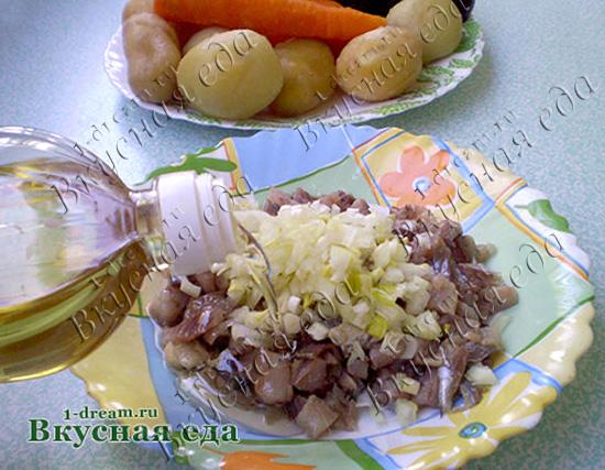 Селедка под шубой классический рецепт с фото