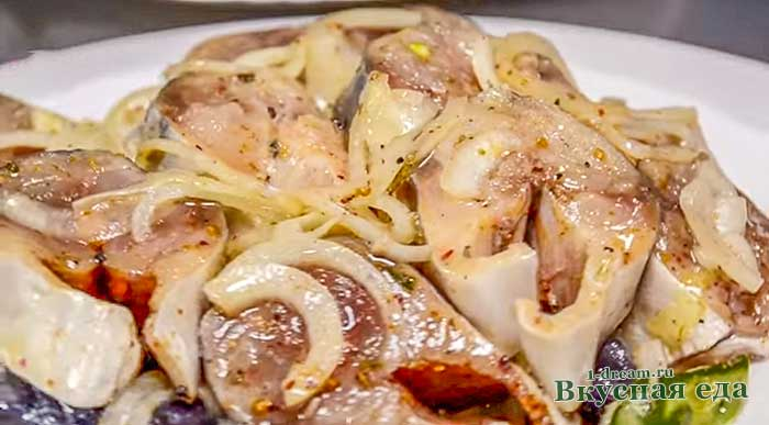 Скумбрия маринованная по-домашнему-рецепт с пошаговыми фото