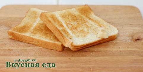 Хлеб запечь для гаспачо