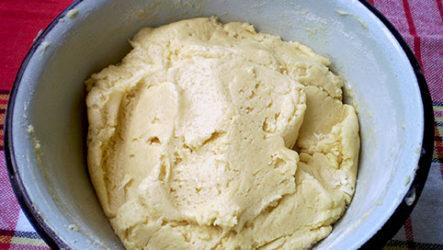Песочное тесто для печенья-рецепт