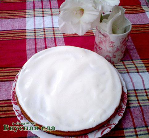 Рецепт манника на кефире