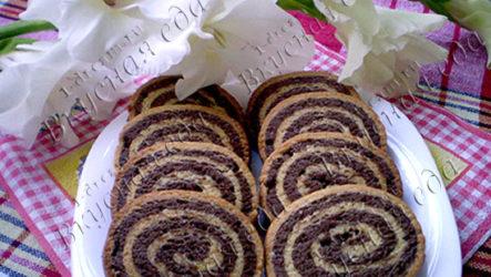 Печенье песочное улитки