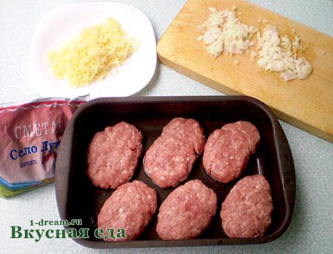 Мясо под сыром