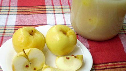 Яблоки моченые-рецепт с фото