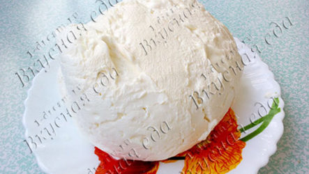 Рецепт домашнего творога для пасхи с фото