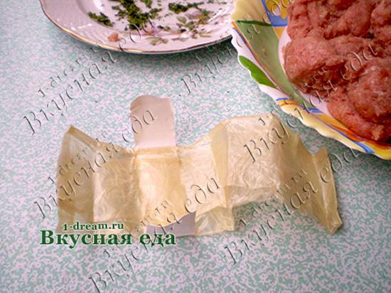 Оболочка для колбасы домашней