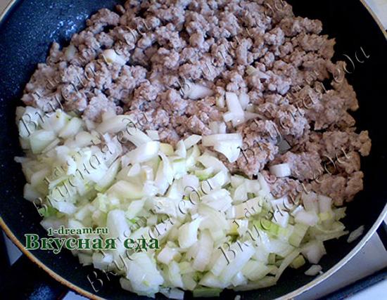 Лазанья с фаршем в духовке