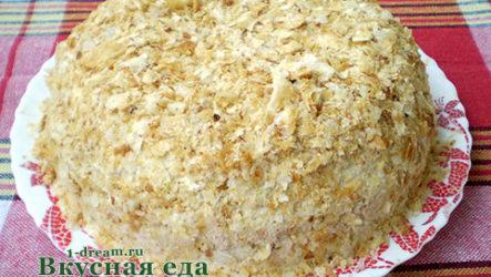 Торт Наполеон-рецепт с фото