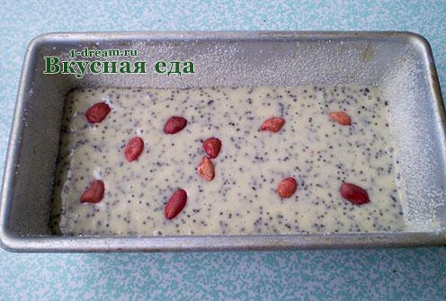 Тесто сметанника в форме для кекса