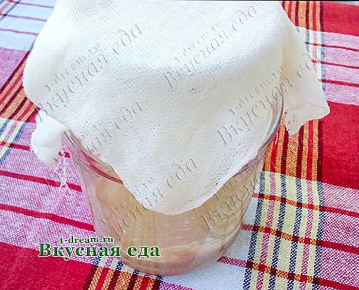 Ржаная закваска рецепт с фото