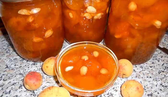 Абрикосовое варенеь с ядрышками - фото рецепт