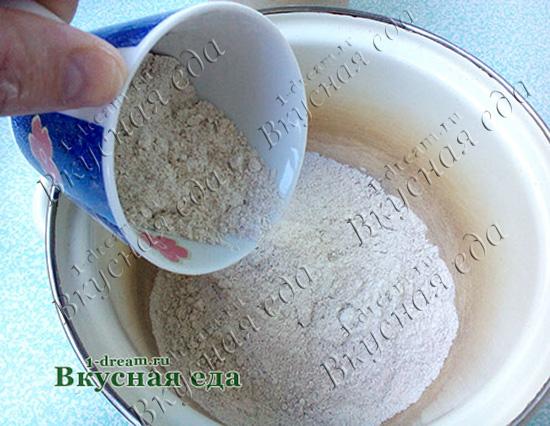 Мука для ржаного домашнего хлеба