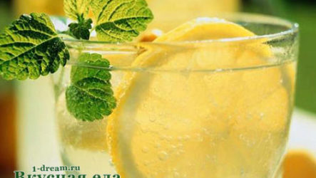 Домашний лимонад газированный-рецепт с фото
