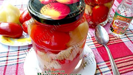 Маринованные помидоры на зиму без специй