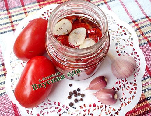 Вяленые помидоры рецепт