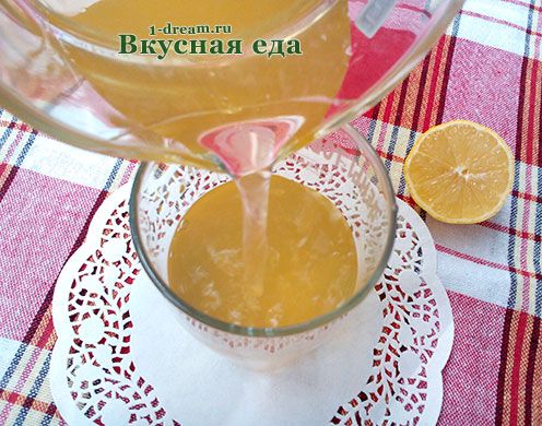 Тархуновый домашний лимонад