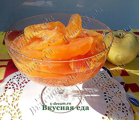 Вкусное варенье из антоновки на зиму-рецепт с фото