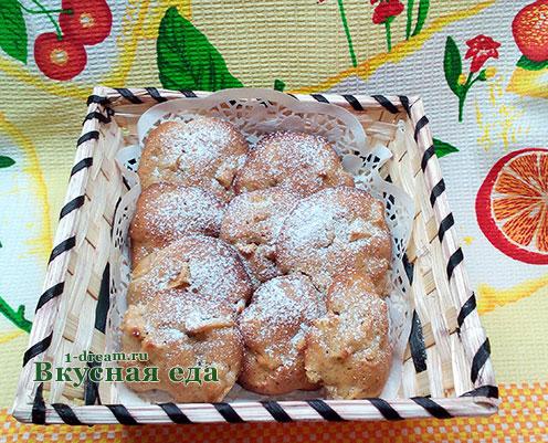 Печенье с яблоками рецепт