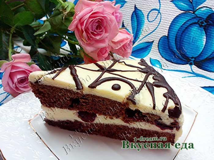 Рецепт шоколадного торта с фото