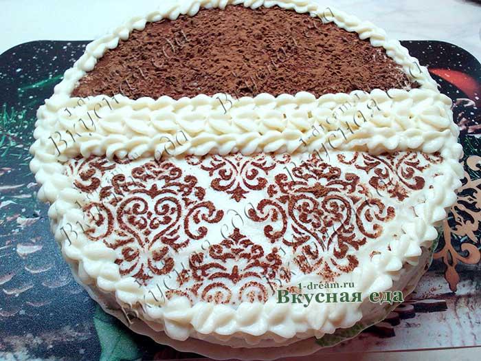 Шоколадный торт - простой рецепт с фото