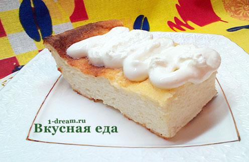 Рецепт вкусной творожной запеканки в духовке