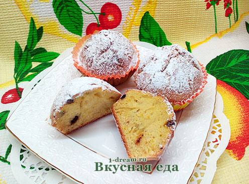 Рецепт кекса на кефире с фото