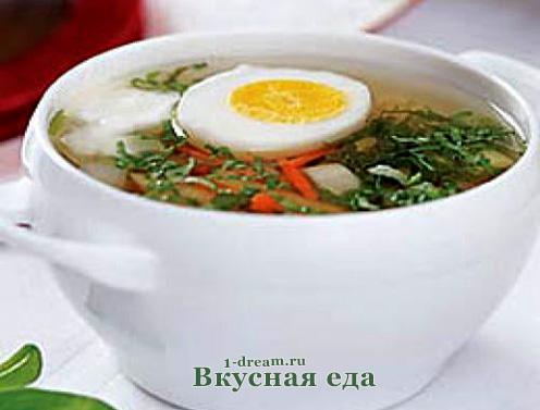 Зеленые щи - суп из щавеля и крапивы
