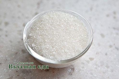 Сахар в малиновый компот на зиму