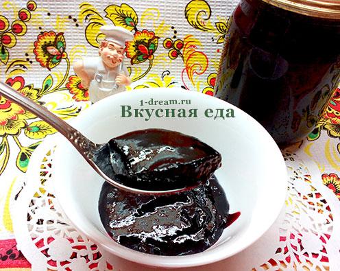 Желе из черной смородины рецепт