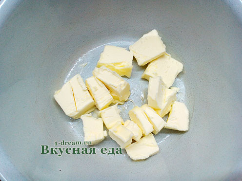 Сливочное масло для кунжутного печенья