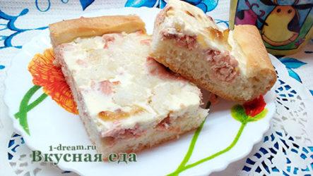 Пирог с горбушей