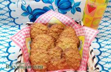 Овсяное печенье из хлопьев