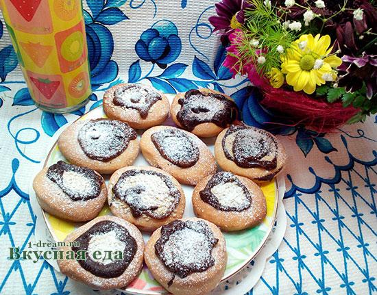 Рецепт печенья на сметане