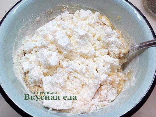 Тесто для творожных кексов
