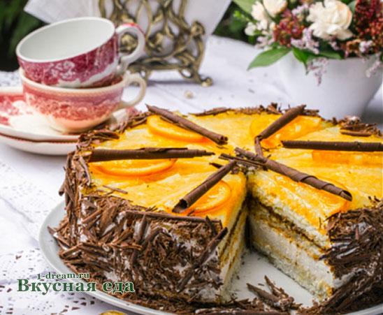 Вкусная пропитка для торта