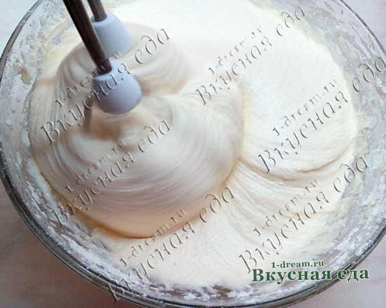 Тесто для пирога с творогом и вишней