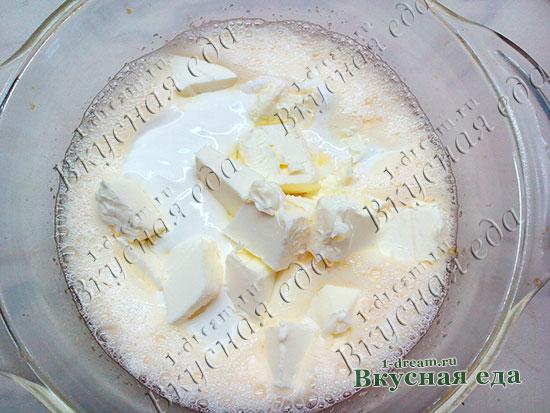Сливочное масло в тесто для кулича
