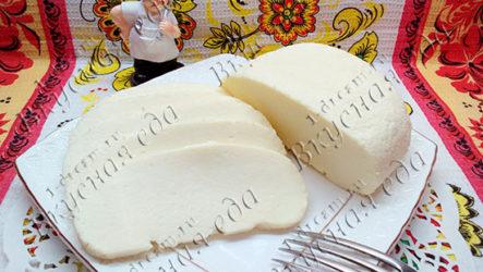 Домашний сыр из молока и яиц-рецепт с фото