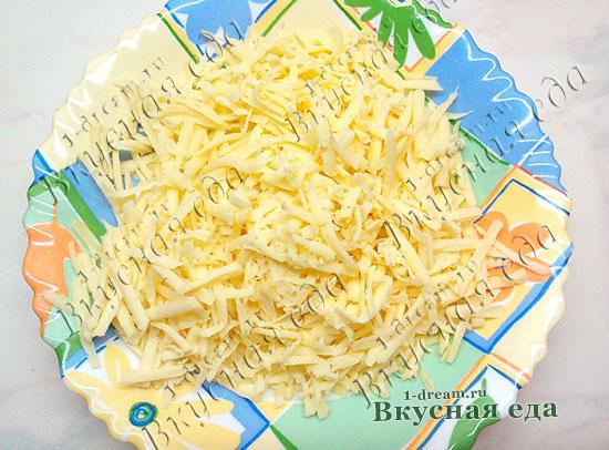 Тертый сыр для запеканки из макарон