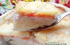 Запеканка из картофеля с куриным фаршем