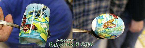 Термопленка - красим яйца на Пасху