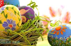 6 способов красить яйца на Пасху